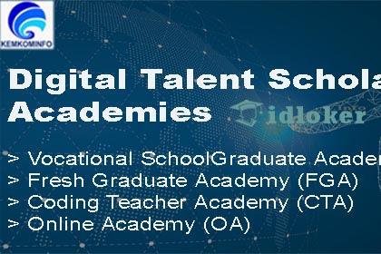 Beasiswa Kominfo Digital Talent Scholarship 2019 Untuk 25.000 Lulusan SMK, Diploma dan Sarjana