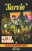 """Peter Randa """"Survie"""" anticipation Fleuve Noir"""