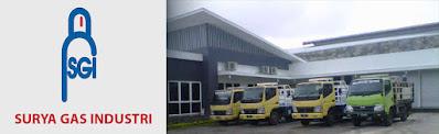 PT SURYA GAS INDUSTRI didirikan pada tahun 2007, merupakan perusahaan penyedia bermacam kebutuhan gas serta peralatannya baik sektor industri maupun medis. Dalam perkembangannya, Surya Gas Industri juga melayani berbagai pekerjaan instalasi khususnya sentralisasi gas. Sedang membuka LOWONGAN KERJA untuk posisi