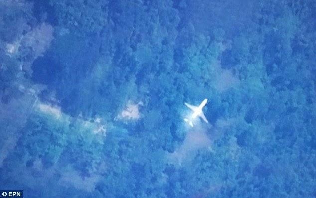 طالب تايواني يعثر على الطائرة الماليزية