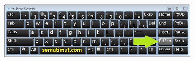 cara screenshot laptop acer windows 7