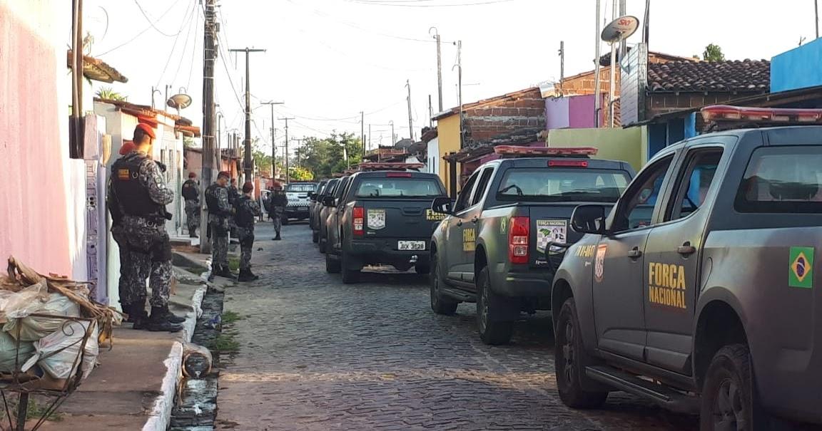 Cidadão Macaibense: Macaíba: Polícias Civil, Militar e Força Nacional  combatem atuação de facções criminosas
