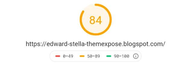 Edward & Stella Responsive Personal Blog Portfolio Blog Journal Blogger Template Theme