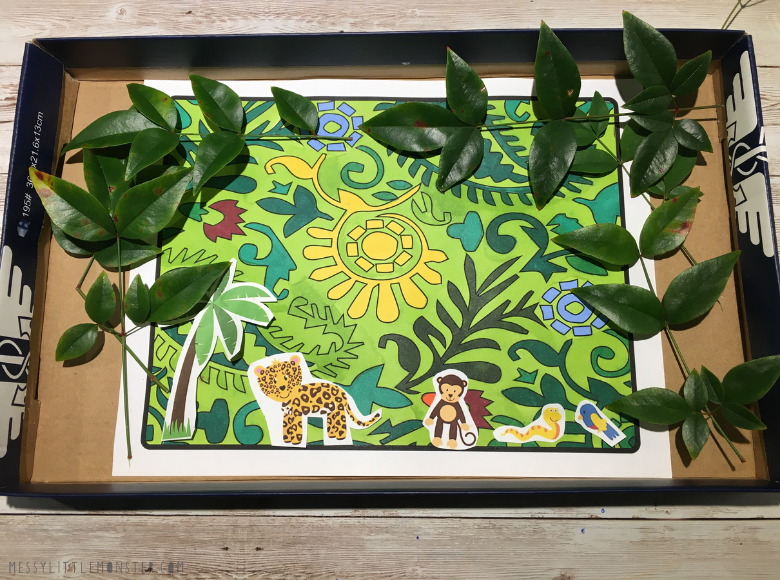 Easy jungle craft for kids