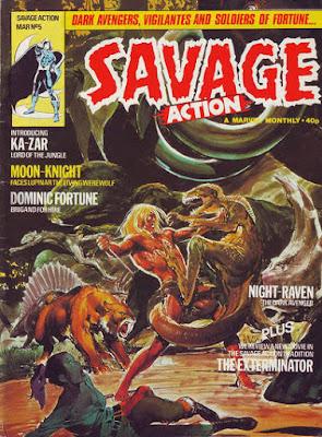 Savage Action #5, Ka-Zar