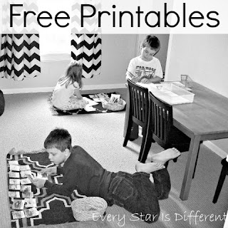 Every Star Is Different Free Printables Page