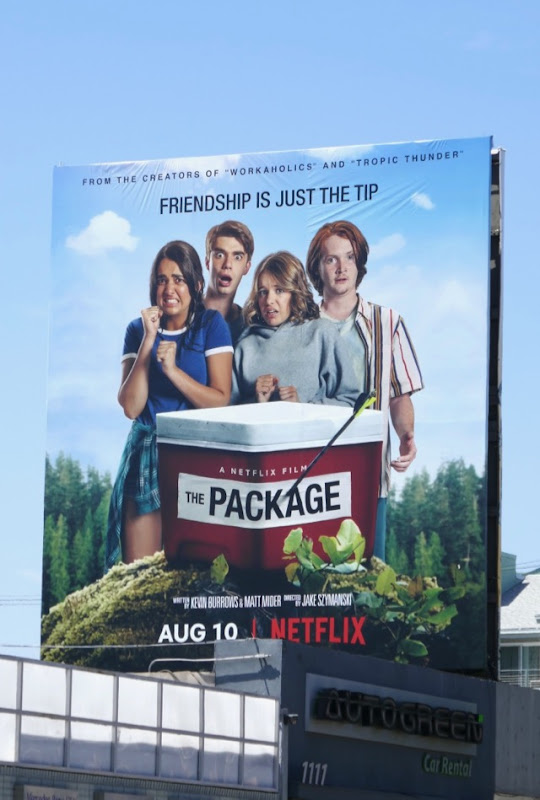 Package movie billboard