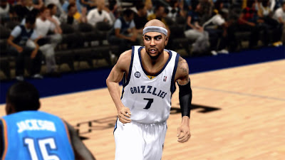 NBA 2K13 Thunder vs Grizzlies Playoffs Patch