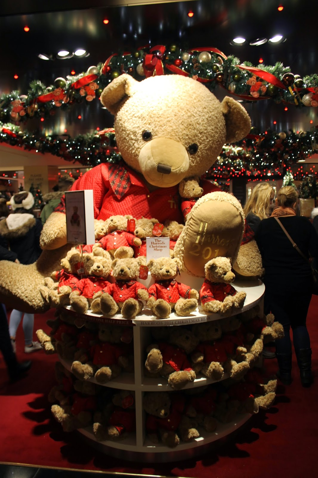 Harrods London Christmas Teddy