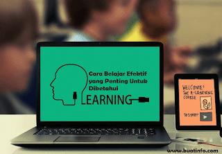 Buat Info - Cara Belajar Efektif