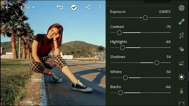 How to Edit a Brown Teal Lightroom Android Photo | Lightroom Editing