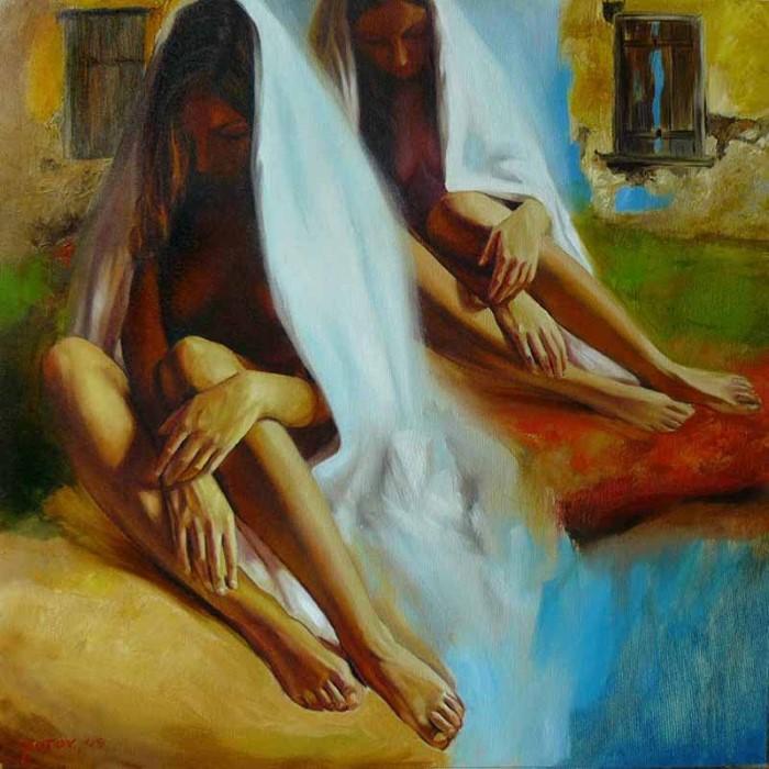 Болгарский художник-сюрреалист.