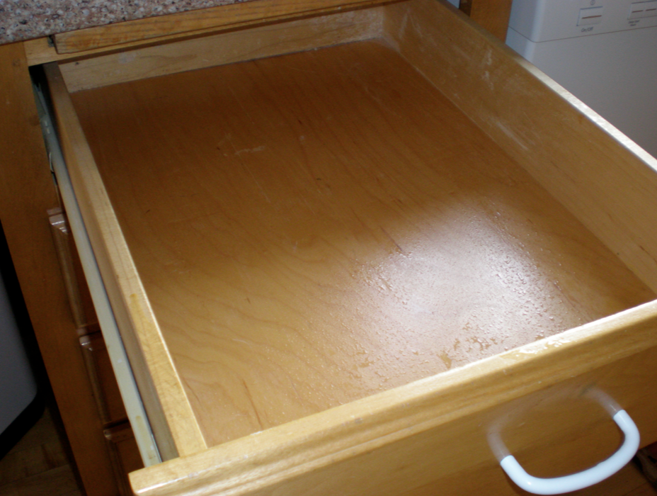 Thrifty Shelf/Drawer Liner Idea | Sweetwater Style