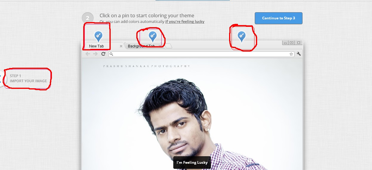 Custom Google Chrome Theme