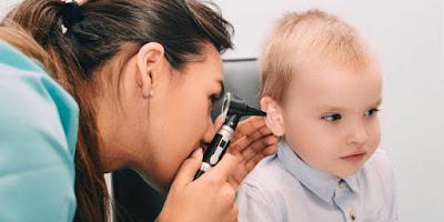 Infecciones oído medio otitis
