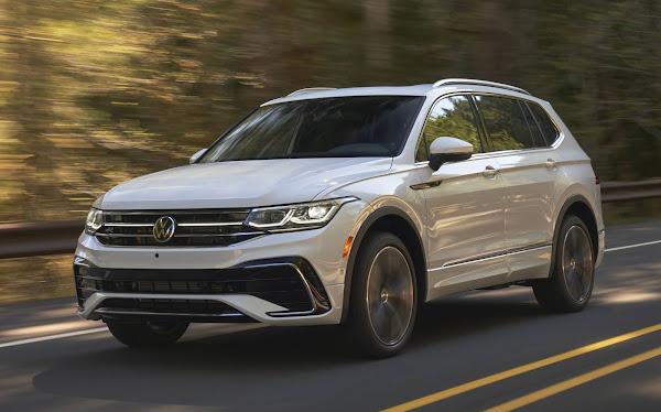 Volkswagen Tiguan AllSpace 2022 renovada: fotos e detalhes oficiais