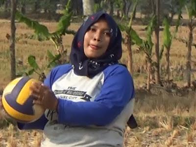 Sambut HUT RI Ke-74, Dusun Gardu Gelar Turnamen Volly Ball Putra dan Putri .