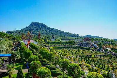taman bunga Thailand