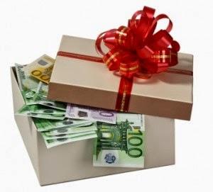 Sobres de navidad para regalar dinero