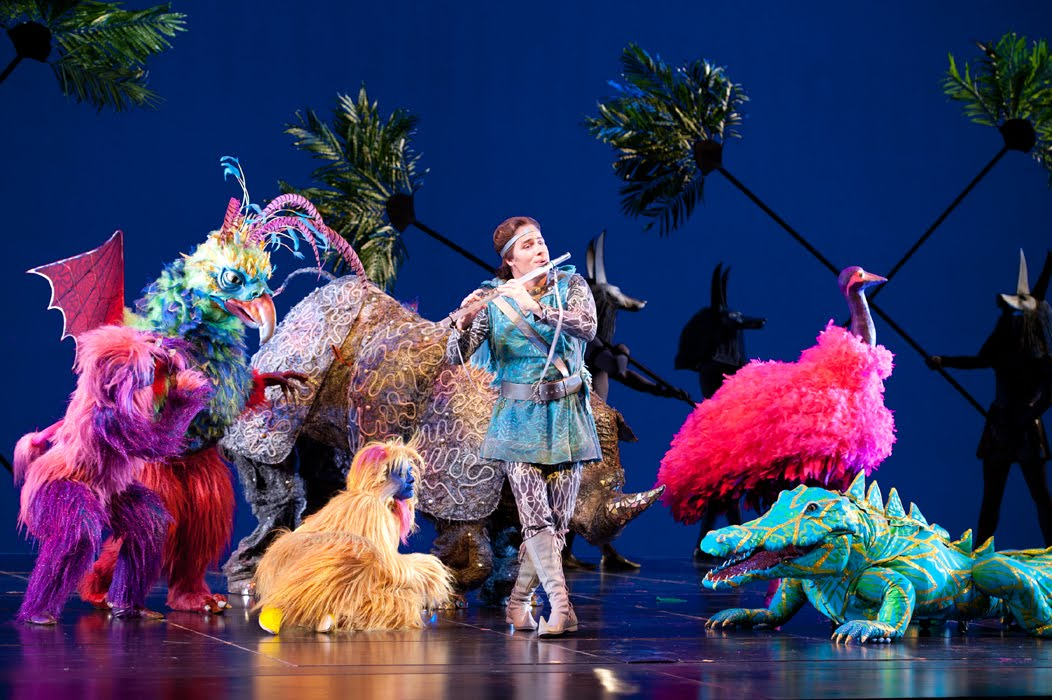 Feathers And Flowers The Magic Flute