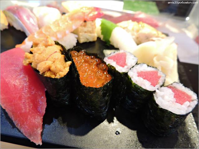 Sushi Zanmai en Tsukiji, Tokio