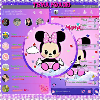 Baby Minnie Theme For YOWhatsApp & Fouad WhatsApp By Ale