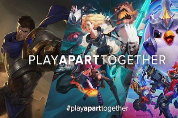 منطمة الصحة العالمية تنظم إلى مبادرة Play Apart Together لحث الناس على البقاء في الحجر الصحي