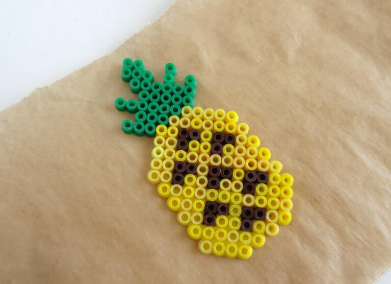 Ananas Beads Perler Gallery Steckperlen Basteln Und Bugelperlen