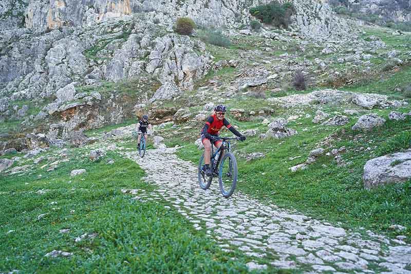 rutas bicicleta centro andalucía