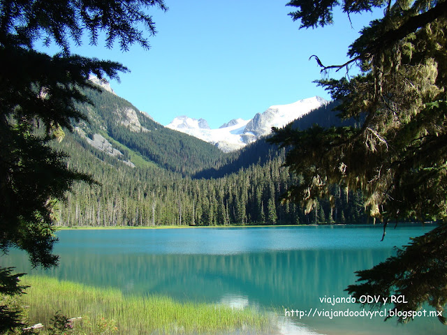 Joffre Lakes, Canada.Viajando ODV y RCL  http://viajandoodvyrcl.blogspot.mx