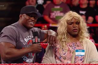 Bobby Lashley Sisters Sami Zayn WWE Raw