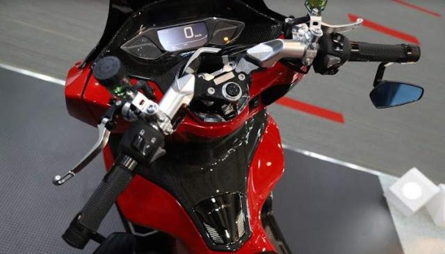 Modif All New PCX160 Stang Racing dan lebar