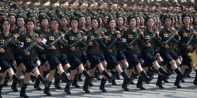 Curahan Hati Tentara Wanita Korea Ini Miris Sekali