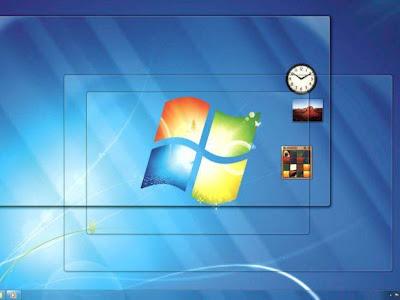 transparência do Windows 7