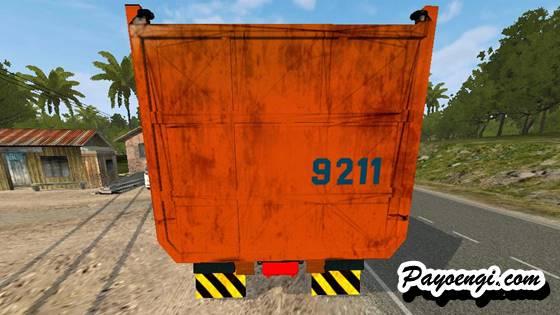 mod bussid truck mercy axor dump