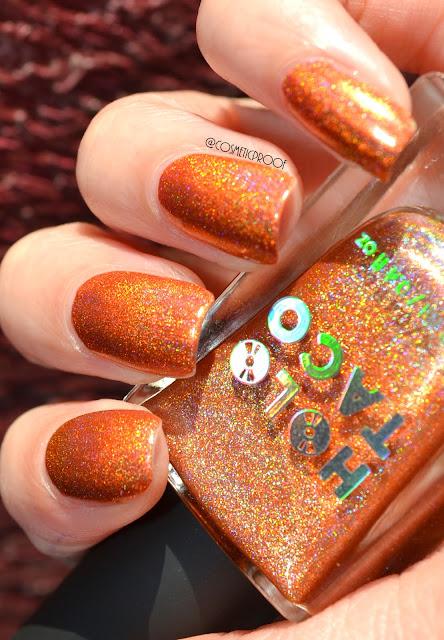 Holo Taco Orange Drink Swatch