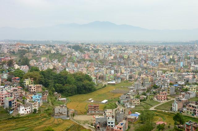 Hauteurs de Katmandou
