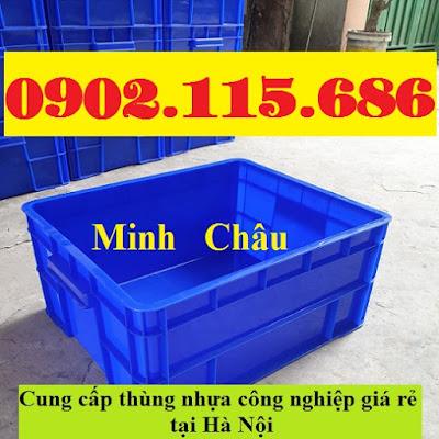 TT4 - Hop nhua co khi, thung nhua co khi, thung nhua cong nghiep, hop nhua cong nghiep, hộp nhựa trữ đông,