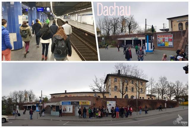 tren de munich a Dachau