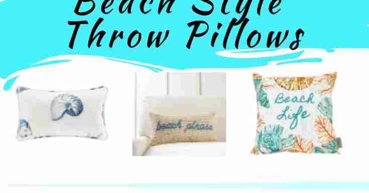 Beach Style Decorative Throw Pillows