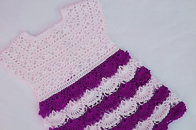 8 - Crochet Imagen Falda para canesú a crochet y ganchillo por Majovel Crochet