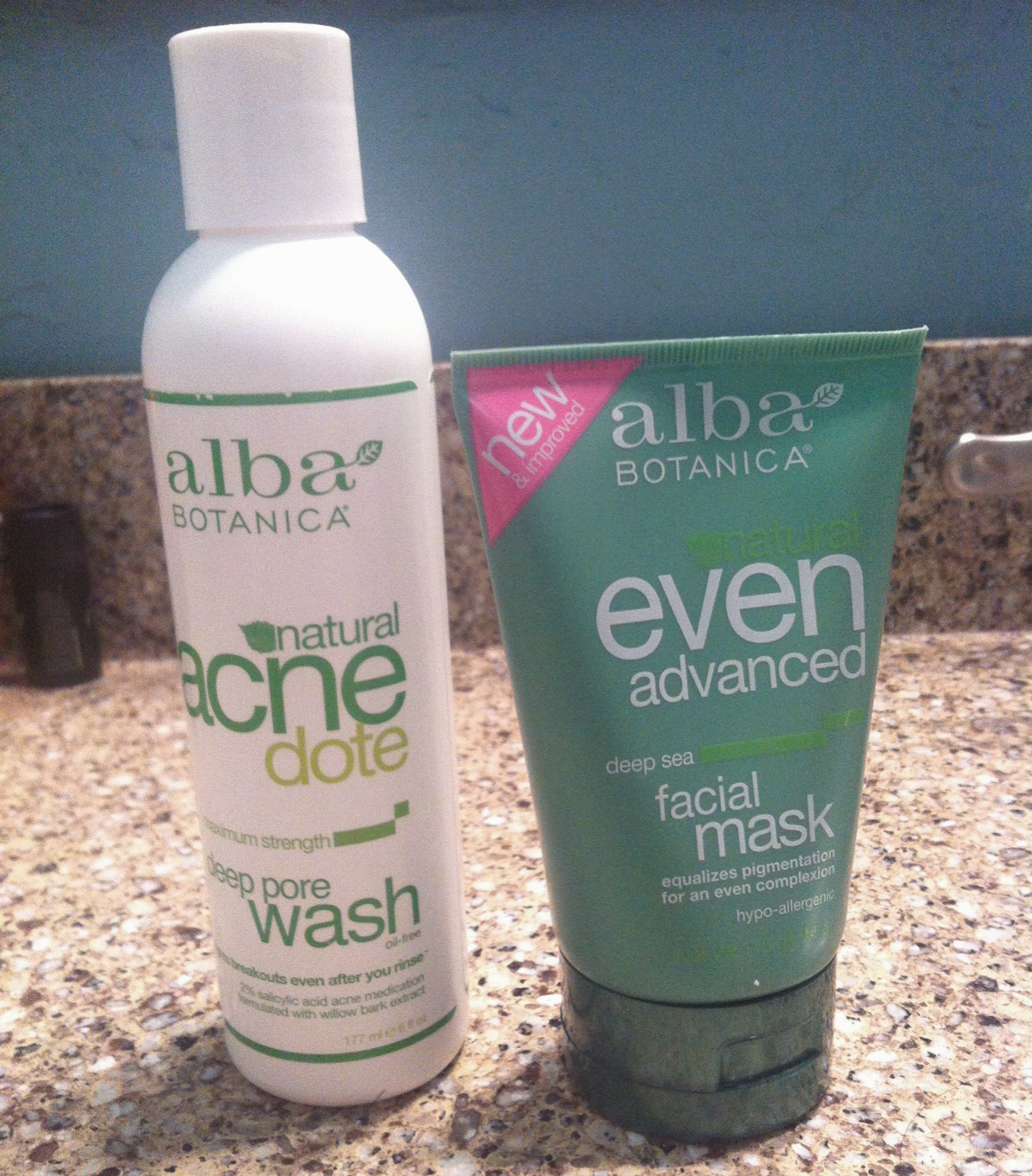Alba Botanica Facial Wash and Mask Review | The Cliche Mermaid