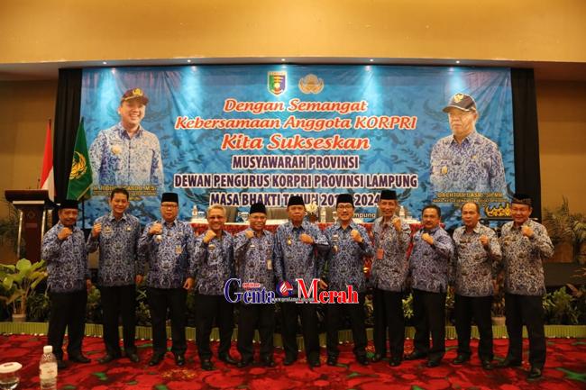 Korpri Lampung Claim Jadi Acuan Secara Nasional Hingga Tempat Study Banding