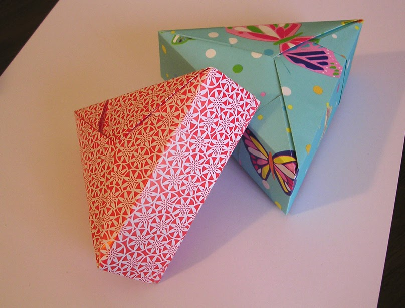 Origami Boxes With Lid