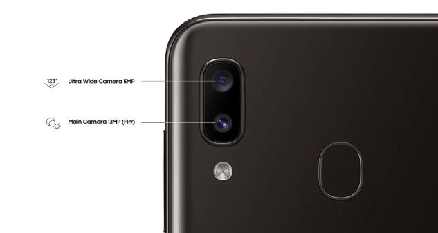 Spesifikasi Kamera Samsung Galaxy A20