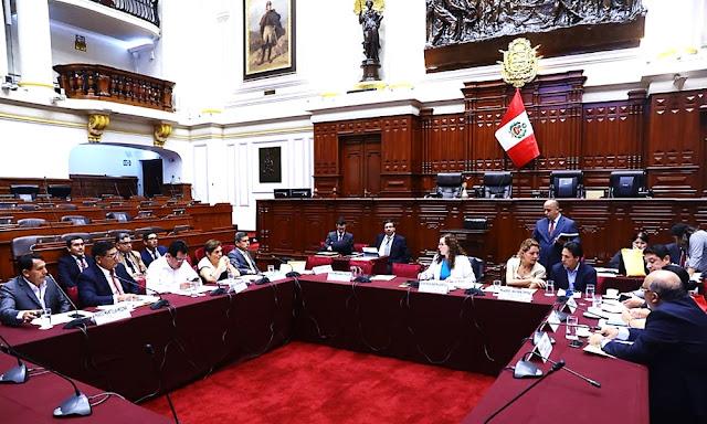 Dictamen de Comisión de Constitución será debatido en el denominado Pleno Mujer.