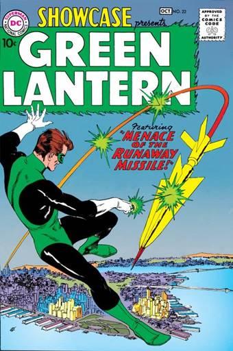 Primera aparición de Hal Jordan