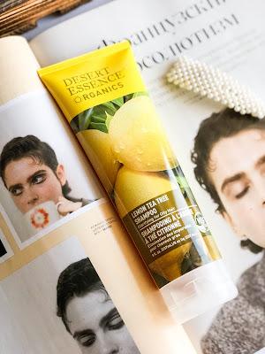 Шампунь лимон чайное дерево Desert Essence