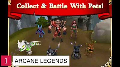 Game-MMORPG-Arcane-Legends
