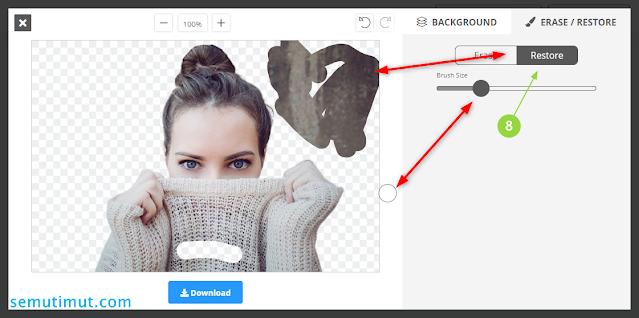 cara menghapus background foto di laptop